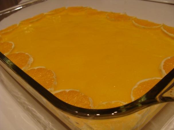 portakal soslu irmik tatalisi